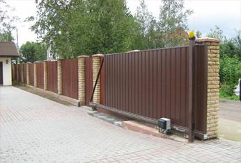 Автоматические ворота в Бишкеке